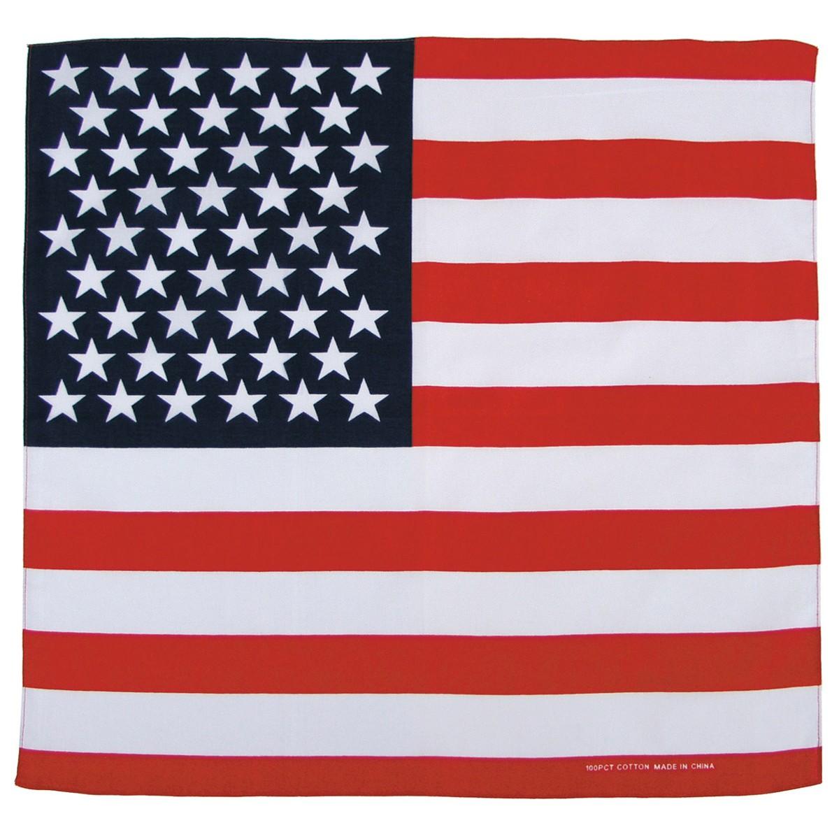 Bandana šátek USA