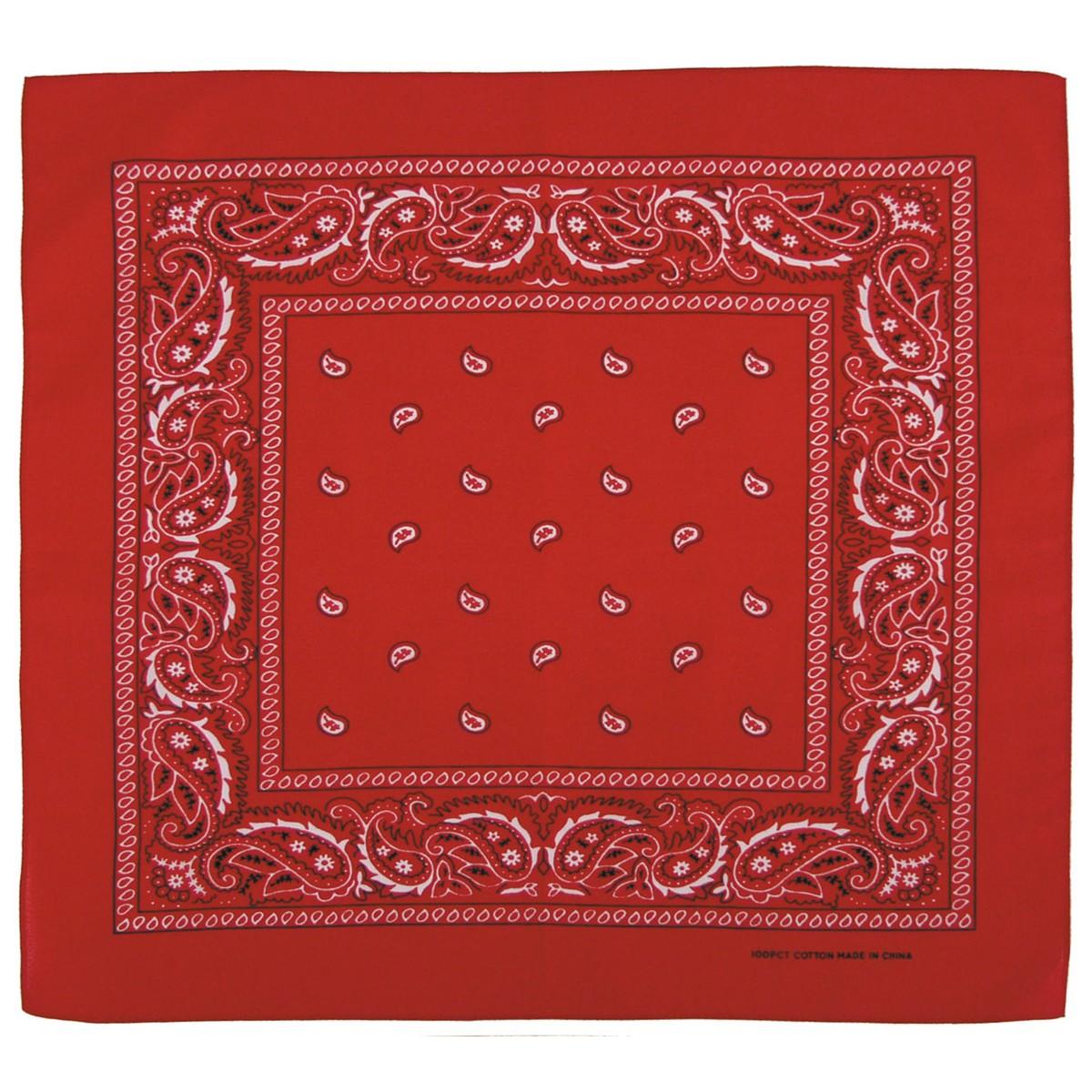 Bandana šátek - červený
