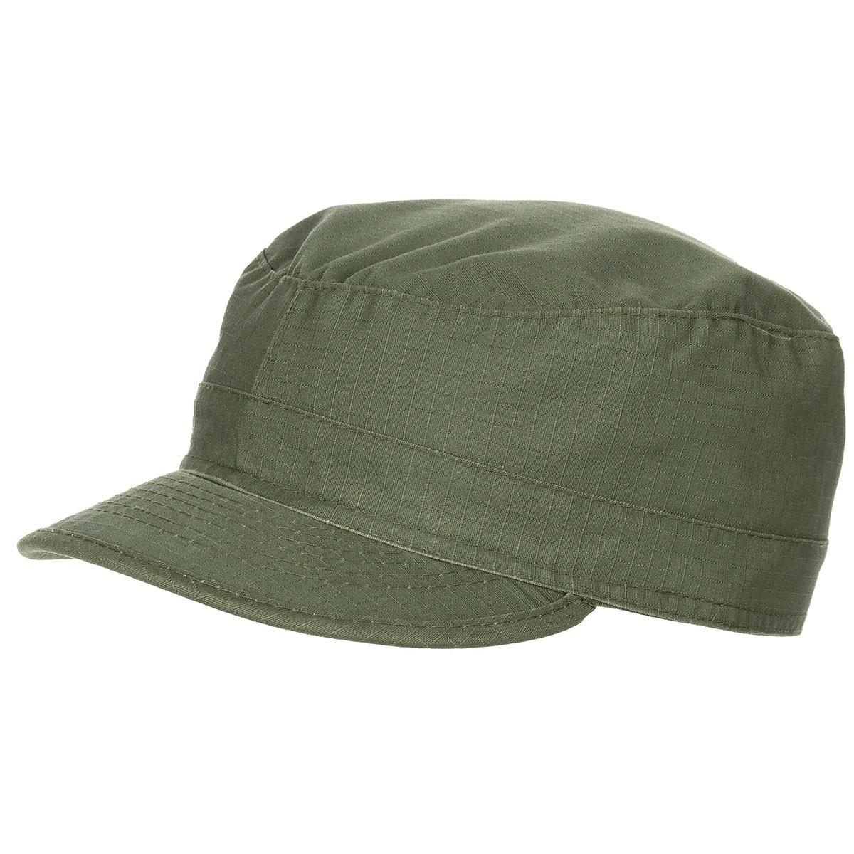 US BDU polní čepice - oliv-stonewashed