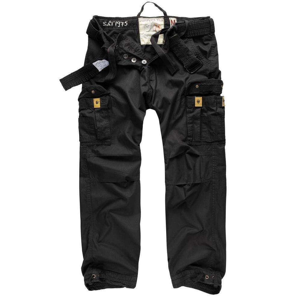 Kalhoty Premium Vintage - černé