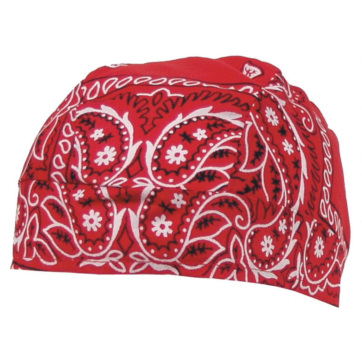 Headwrap - červený