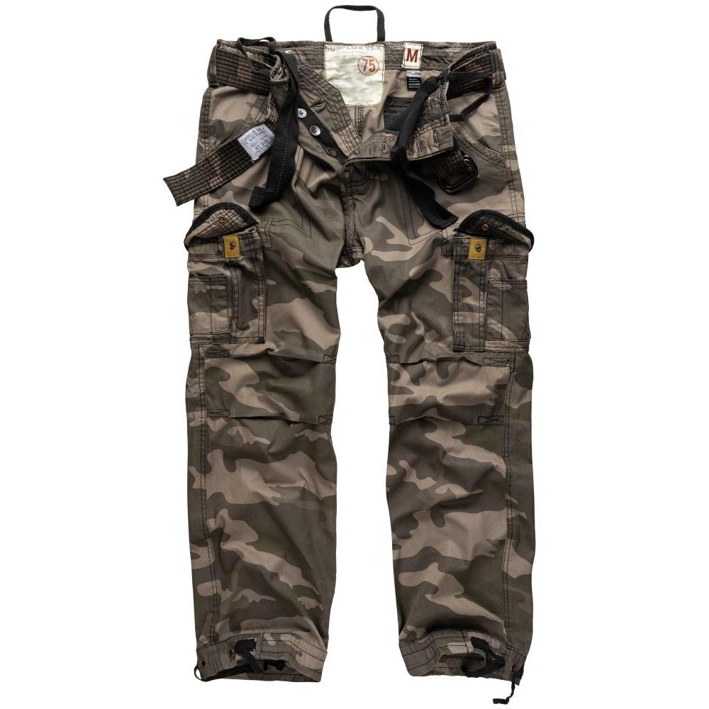 Kalhoty Premium Vintage - blackcamo