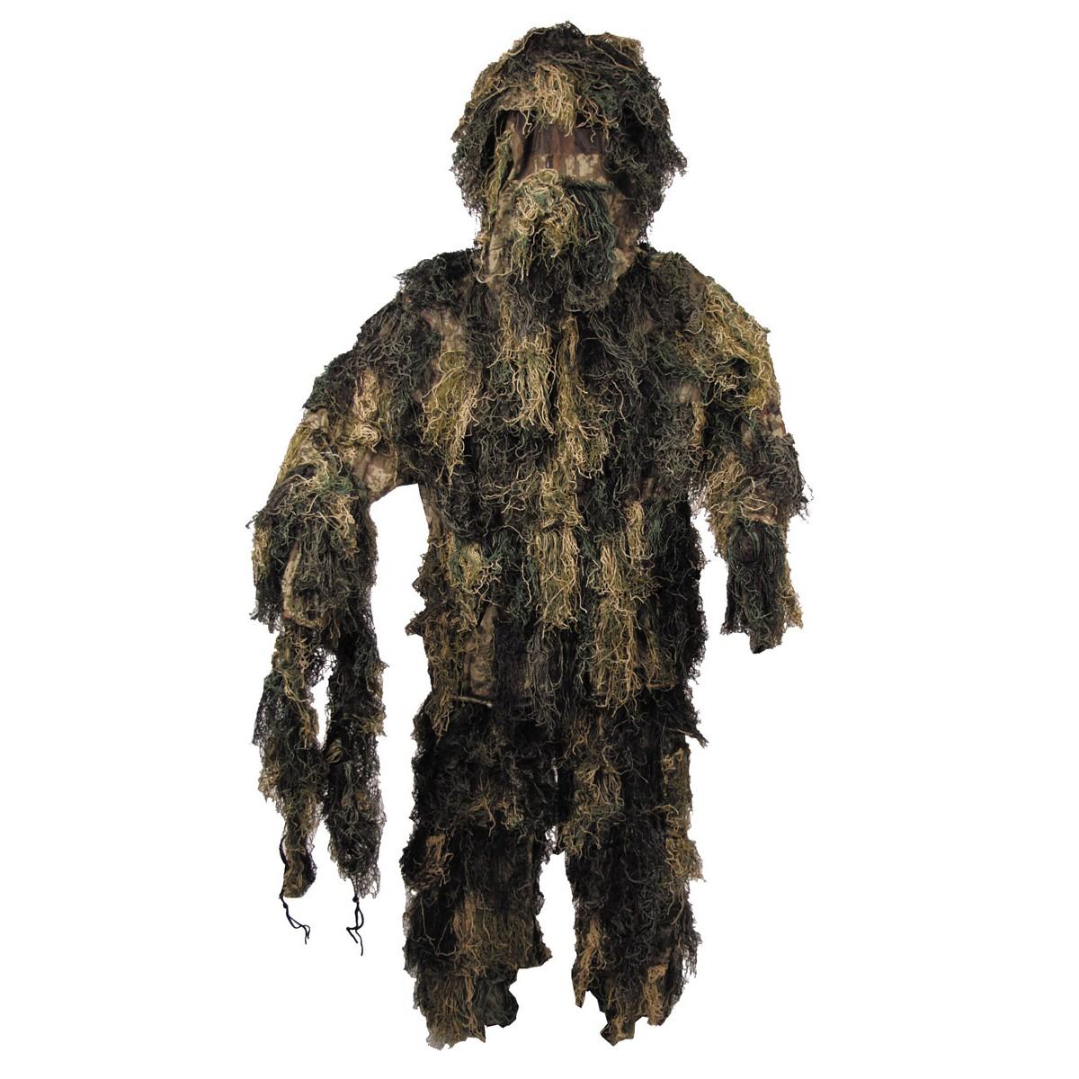 Maskovací oblek Hejkal - woodland