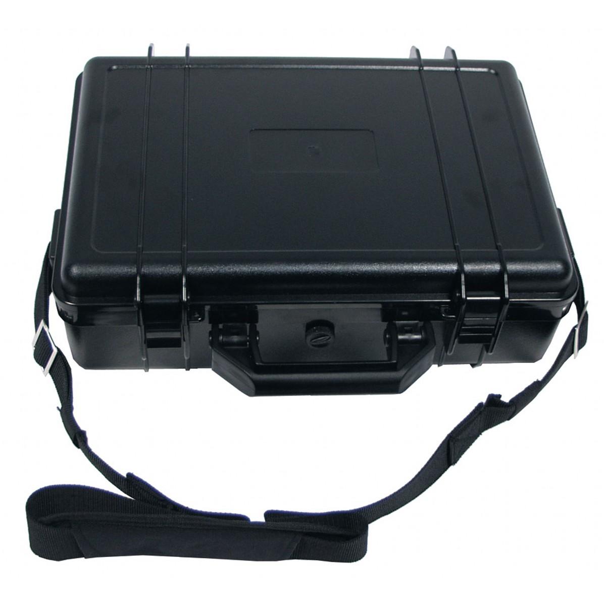 Kufr plastový vodotěsný Maxi - černý