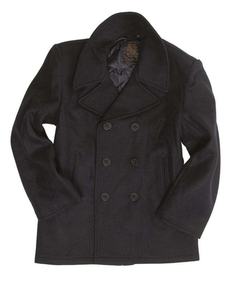 Kabát US Pea Coat - navy