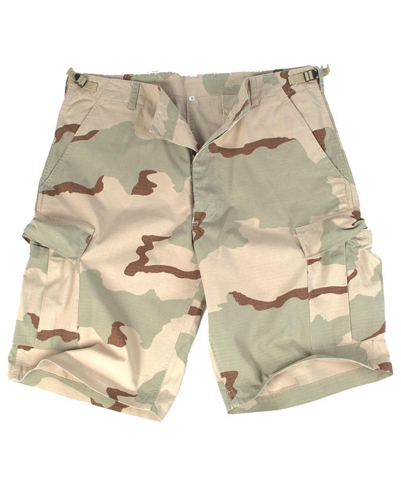 Krátké kalhoty US RS - desert