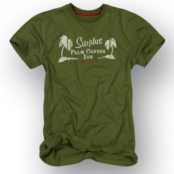 Tričko Surplus Palm - olivové