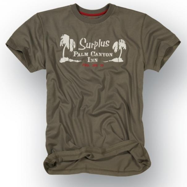 Tričko Surplus Palm - antracitové