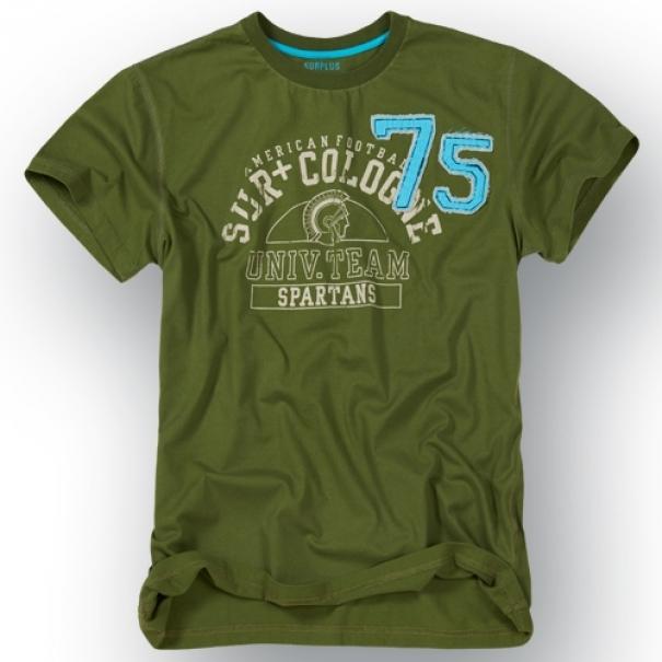 Tričko Surplus Spartans - olivové