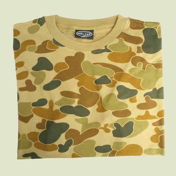 def0f85aa Maskáčové tričko s krátkym rukávom - svetlé maskovanie - Army a ...