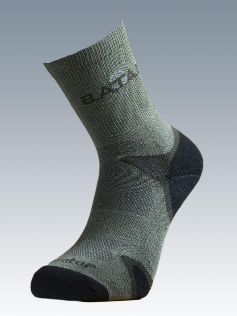Ponožky se stříbrem Batac Operator - zelené