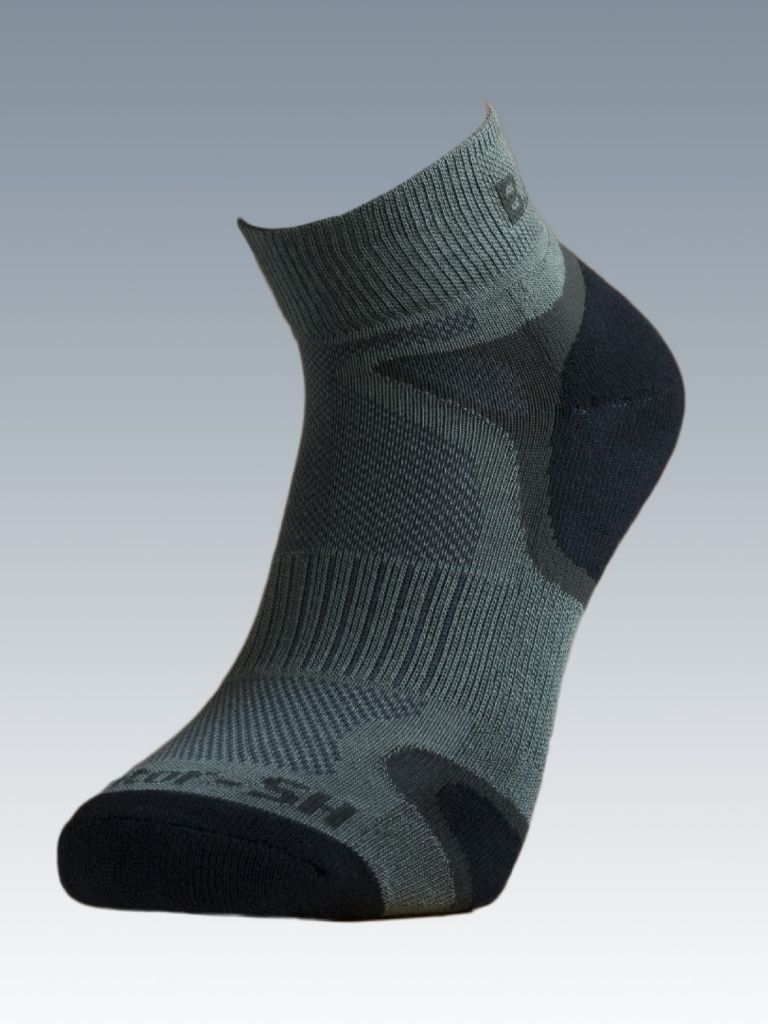 Ponožky se stříbrem Batac Operator Short - zelené