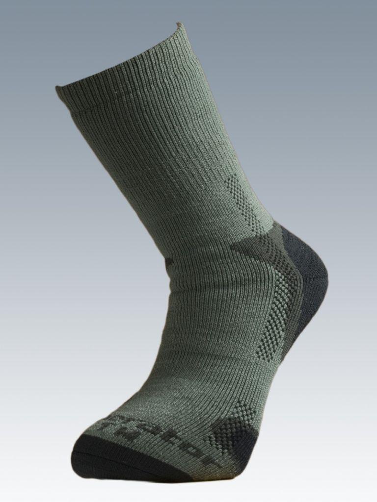 Ponožky se stříbrem Batac Operator Thermo - zelené