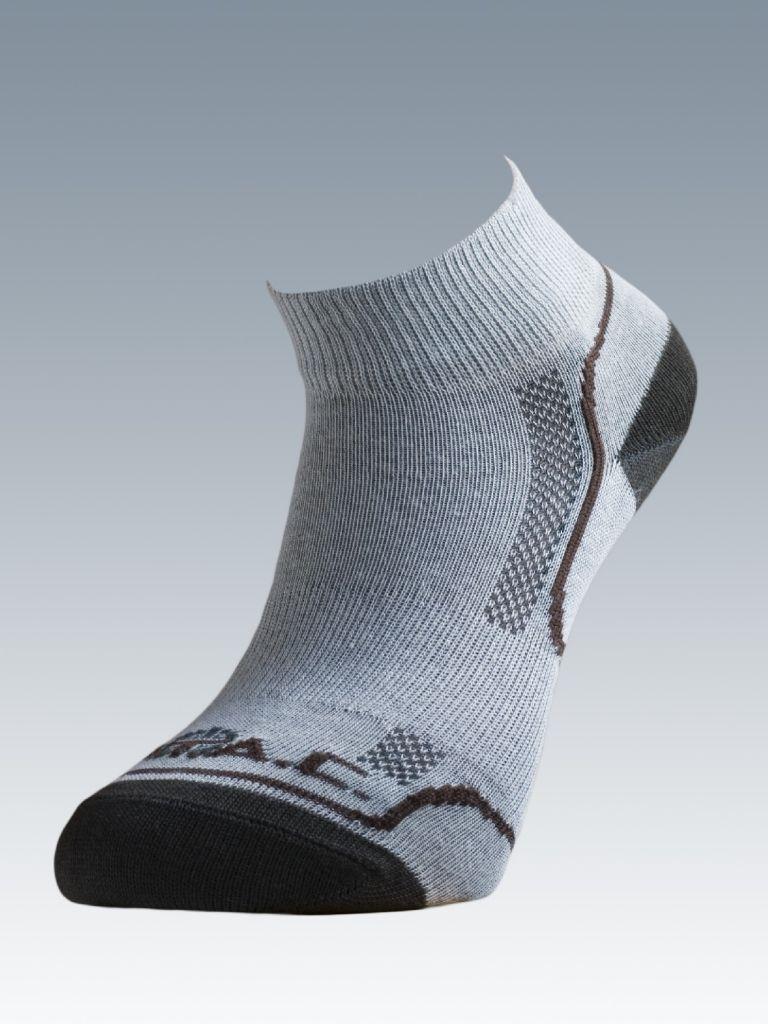 93d3ec59426 Ponožky se stříbrem Batac Classic Short - pískové
