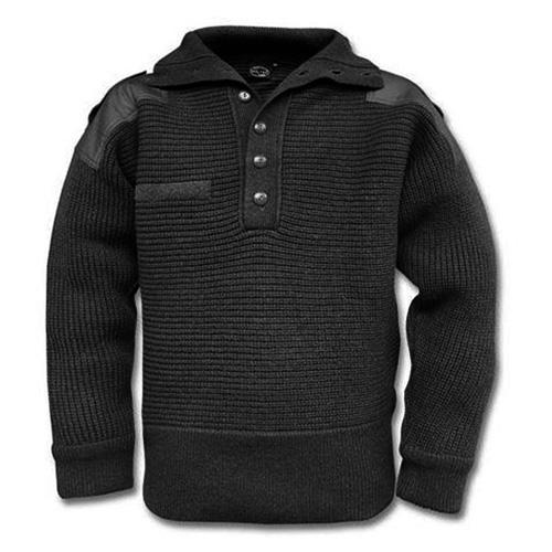 Rakouský vlněný svetr - černý
