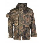 Bunda s kapucňou Mil-Tec Light Weight - flecktarn