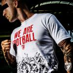 Triko PGwear We Are Football - biele