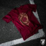 Triko PGwear Love The Game - burgundy