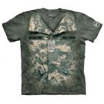 Tričko unisex The Mountain OHT Uniform Military - AT-digital