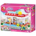 Stavebnica Sluban Girls Dream Supermarket M38-B0529