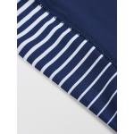Tričko Manto Rash Stripe - navy
