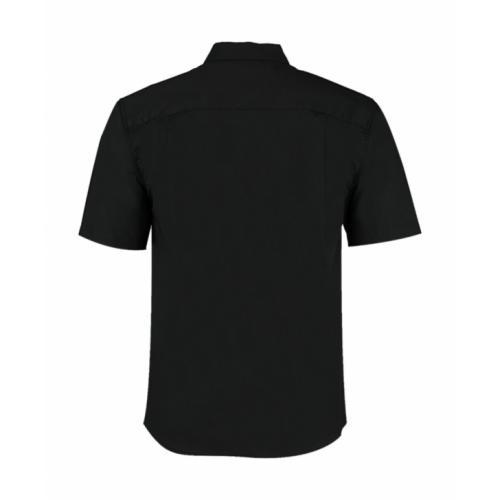 934fe41c346 Košile Bargear s krátkým rukávem a stojáčkem - černá - Pracovní ...