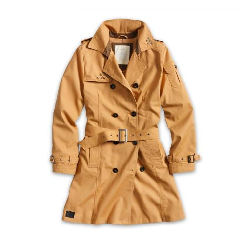Surplus Trenchcoat Woman - hnedý