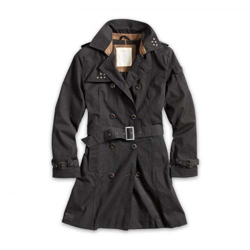 Surplus Trenchcoat Woman - černý