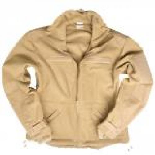 Fleece bunda Mil-Tec Windproof - coyote