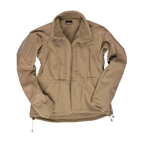 Bunda Mil-Tec Softshell Plus - coyote