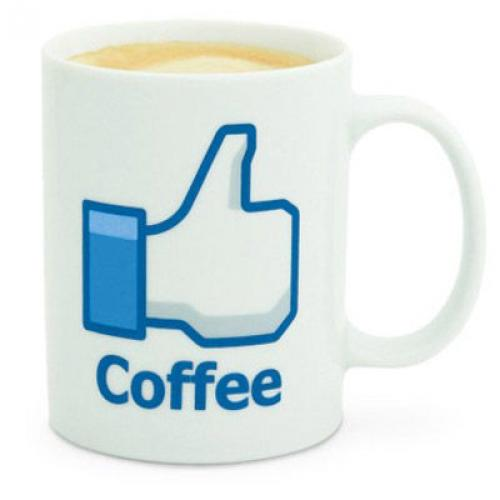 Hrnček Facebook Coffee