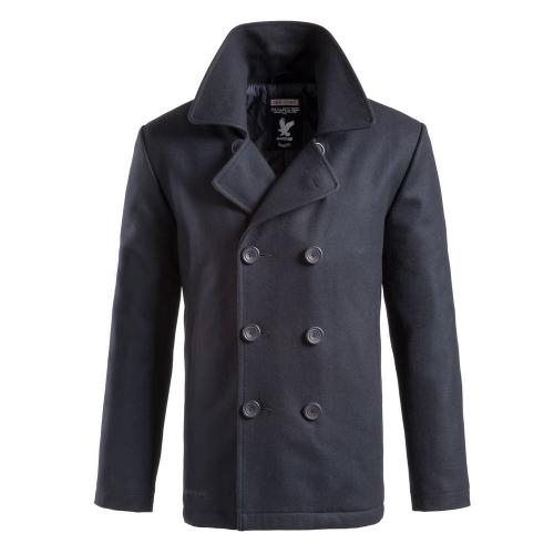 Kabát Surplus Pea Coat - navy