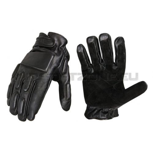 Rukavice Invader Gear Phalanx Leather Gloves - čierne