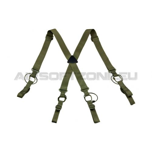 Traky Invader Gear Low Drag Suspender - olivové