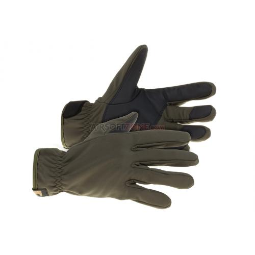 Rukavice Claw Gear Softshell Gloves - olivové