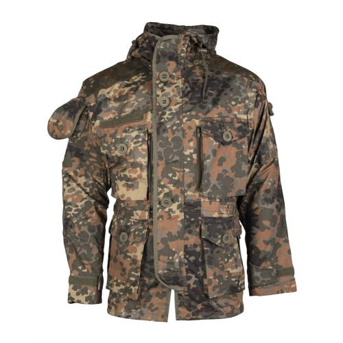 Bunda s kapucí Mil-Tec Light Weight - flecktarn