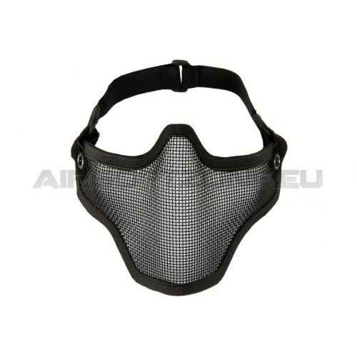 Maska Invader Gear Steel Half Face Mask - čierna