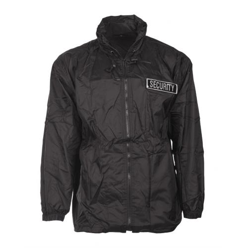 Bunda Mil-Tec Security Windbreaker - černá
