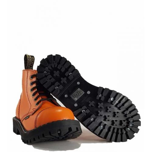 22f91ecc4e0 Boty Steel 6-dírkové - oranžové - Army shop a outdoor vybavení