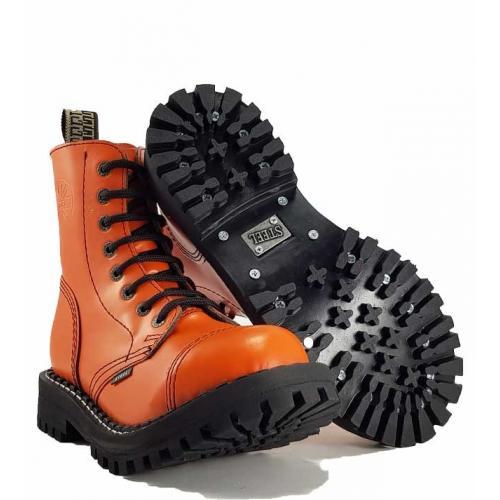 Boty Steel 8-dírkové - oranžové - Army shop a outdoor vybavení 5c0937d5ab