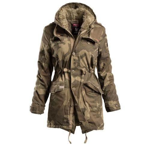 Bunda Surplus Raincheaster Parka Woman - woodland