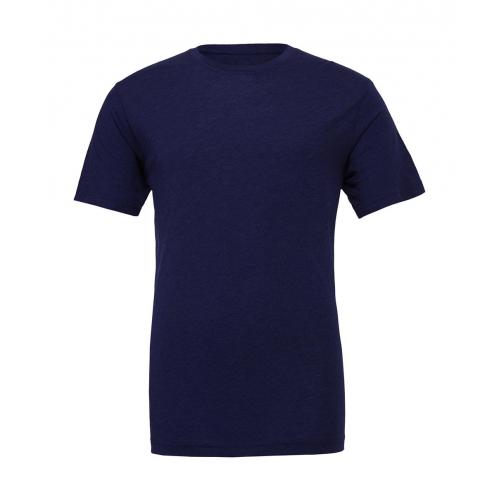Tričko Bella Triblend Crew Men - navy