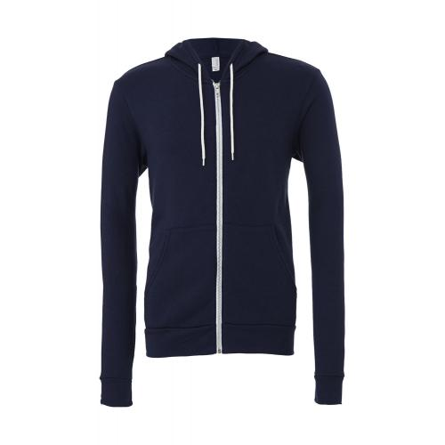 Mikina Bella Zip-Up - navy