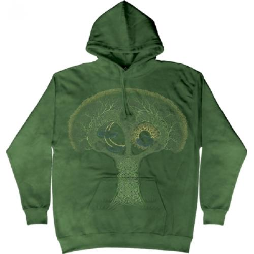 Mikina The Mountain Hoodie Celtic Roots - zelená