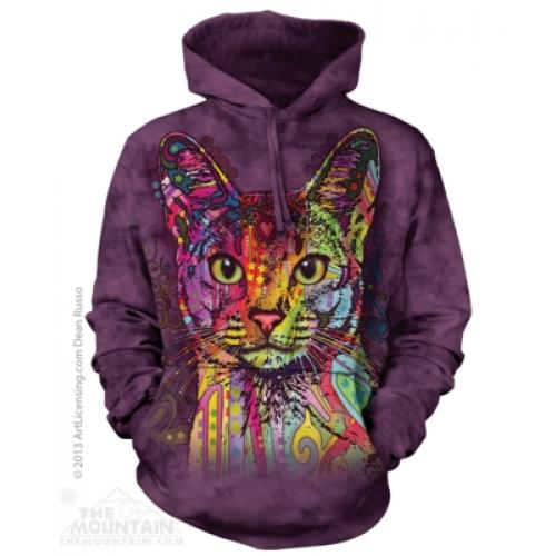 Mikina The Mountain Hoodie Abyssinian - fialová