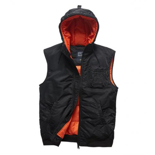 Vesta Vintage Industries Smith Bodywarmer - čierna
