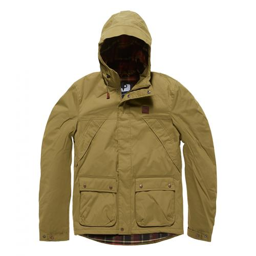 Bunda Vintage Industries Garbon - khaki