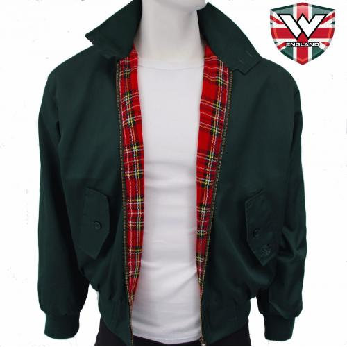 Bunda Warrior Harrington Classic - zelená