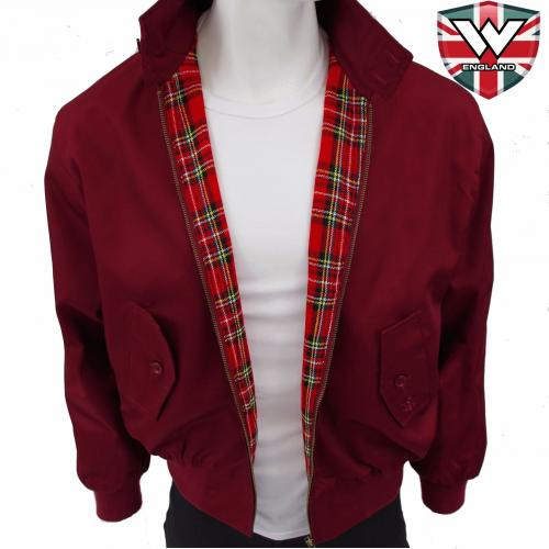 Bunda Warrior Harrington Classic - burgundy
