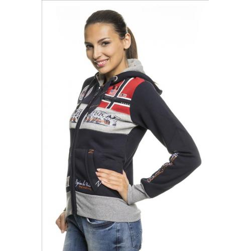 Mikina Geographical Norway Flyer Lady - navy